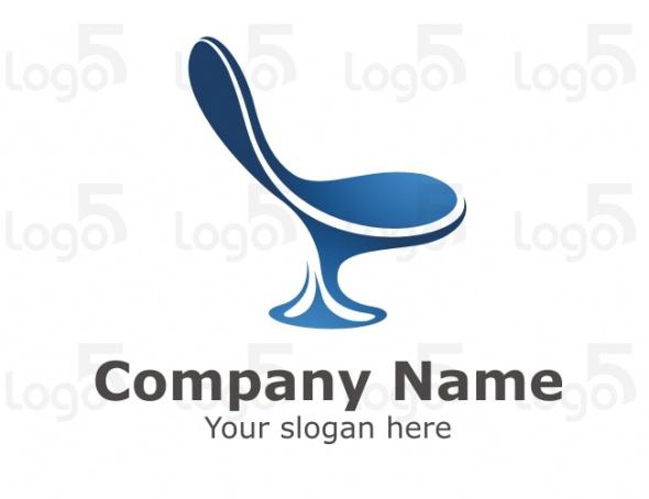 Interior Logo   Stylischer Stuhl   logo5.de