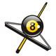 Billard Logo - Logo für Billardsalon