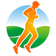 Rennen bzw. Joggen in der Natur