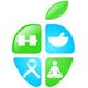Apfel der Gesundheit - Sport und Ernährung