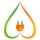 Öko Strom Logo - Natürliche Energie
