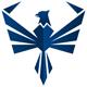 Adler Logo - Adler mit geöffnetem Flügeln