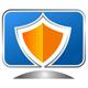 Computer Sicherheit + Virus Schutz Logo
