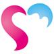 Herz Logo - Geschwungene Herz Form