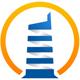 Ostsee Logo - Leuchtturm umrandet mit einem Kreis
