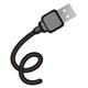 """USB Anschluss dessen Kabel """"E"""" darstellt"""