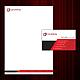 Geschäftspapier Set 03 - Abstrakte Geometire