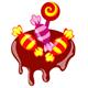 Süßigkeiten: Bonbons, Lutscher und Schokolade