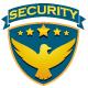 Adler auf Wappen - Security Logo