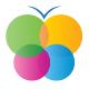 Bunter Schmetterling - Logo für Tintenpatronen