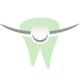 Zahn mit permanent Spange