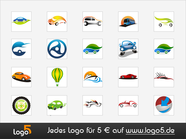 Auto, Transport und Logistik Logos