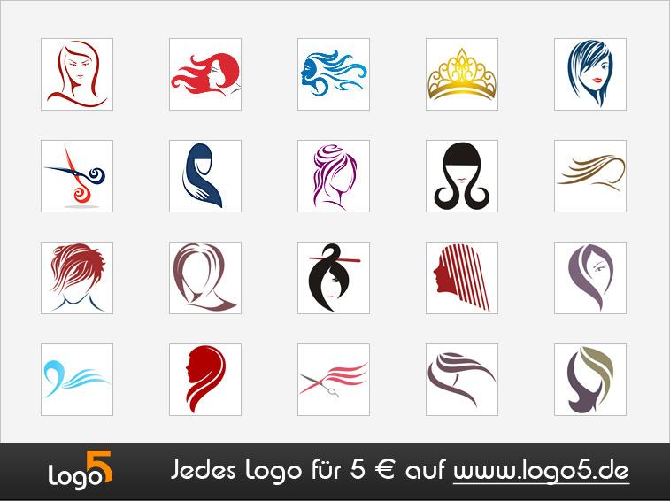 Friseur Logos
