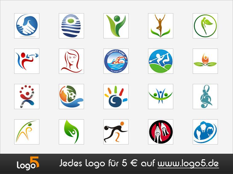 Personen, Kinder und Menschen Logo