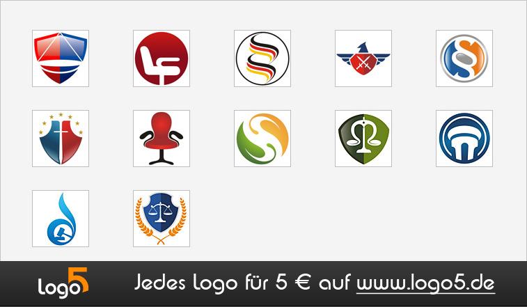 Rechtsanwalt, Steuerberater Logos