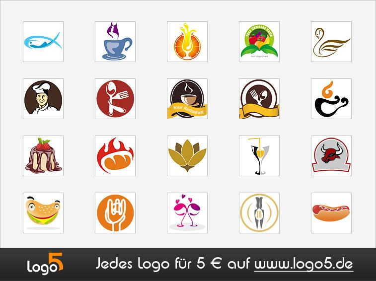 Restaurant, Cafe Logos