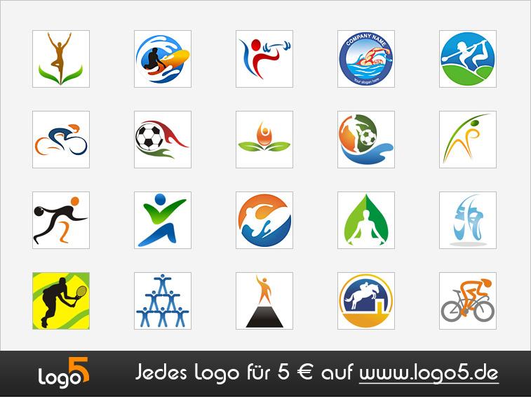 Sport Und Fitness Logos